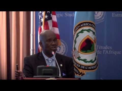 Professional Security Education in Africa - Lt. General Mwaniki