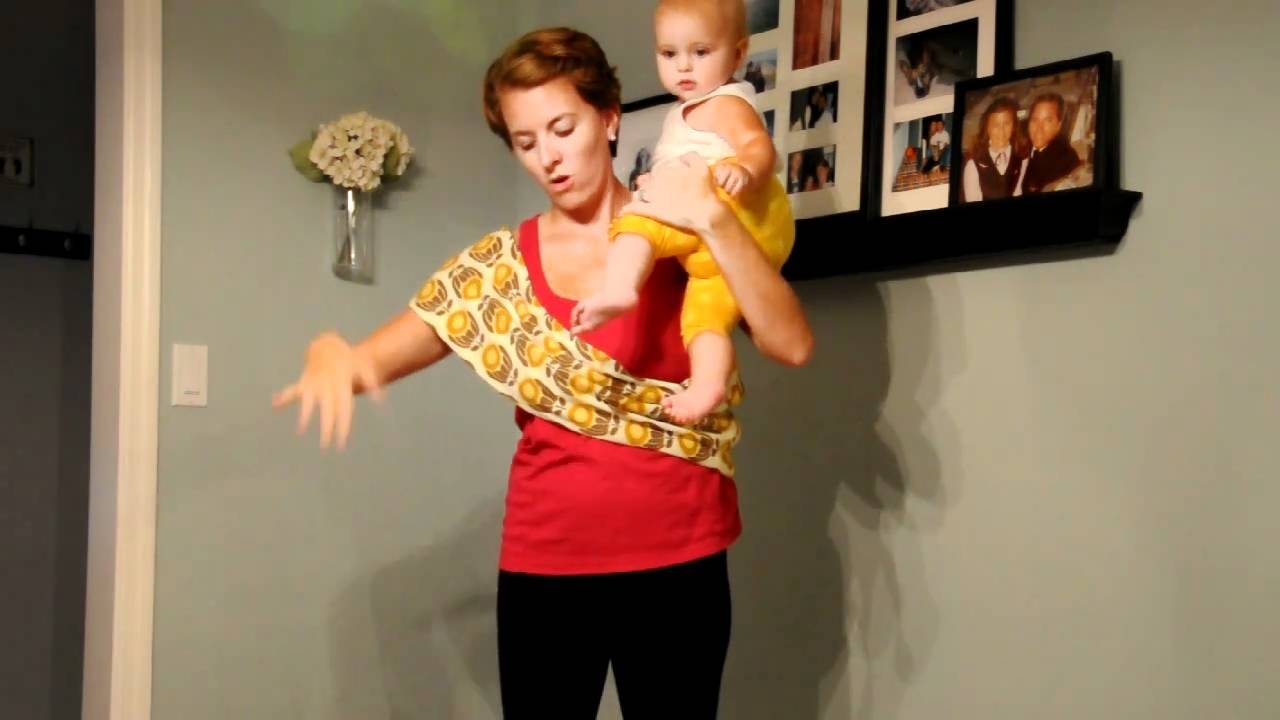 3651694e67f Petunia Pickle Bottom Sojourn Sling Video Tutorial - YouTube