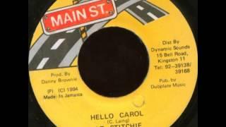 lt  stitchie - hello carol