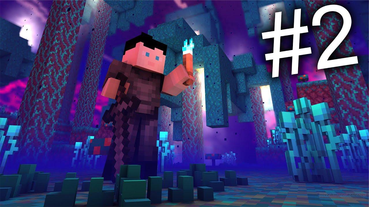 Ser ''Nye Nether'' *For Første Gang*😱 - Minecraft Episode 2