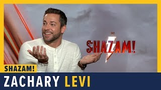Zachary Levi Talks SHAZAM!