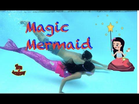 Magic Mermaid Powder Secret Tale | SKIT | Toys Academy