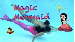Magic Mermaid Powder Secret Tale | SKIT | Toys Academy