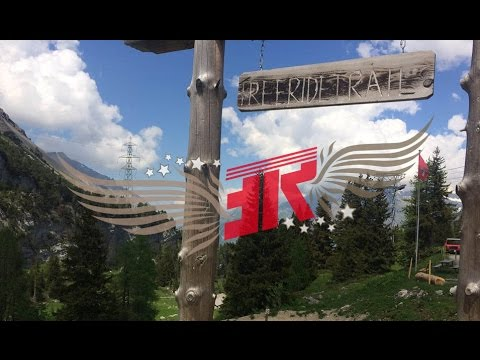 Freeridetrail Kandersteg Chicken Run Juni 2016