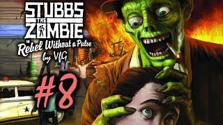 Stubbs the Zombie Месть короля 8 Финальное сражение