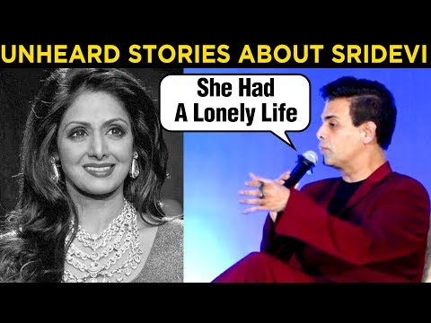 Karan Johar REVEALS Some Interesting FACTS About Sridevi | The Eternal Screen Goddess Book Launch