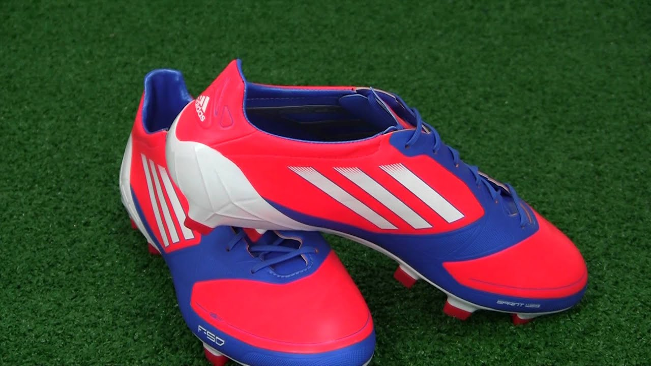 adidas F50 adizero (Euro2012 Edition) Infrared Running White Bright Blue f76b0a4d833f