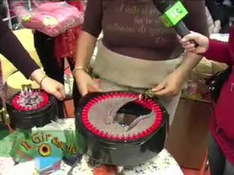 Macchinetta per maglia tubolare