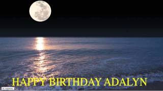Adalyn  Moon La Luna - Happy Birthday