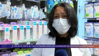 Yvelines | Les auto-tests se font attendre dans les pharmacies de Montigny-le-Bretonneux