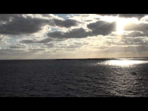 Quantum of the Seas: Inaugural CocoCay, Bahamas Attempt (with MSC Divina) on November 28, 2014