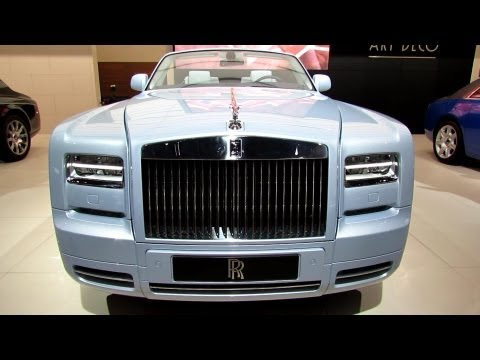 2013 Rolls-Royce Phantom Drophead Coupe - Exterior and Interior Walkaround - 2012 Paris Auto Show