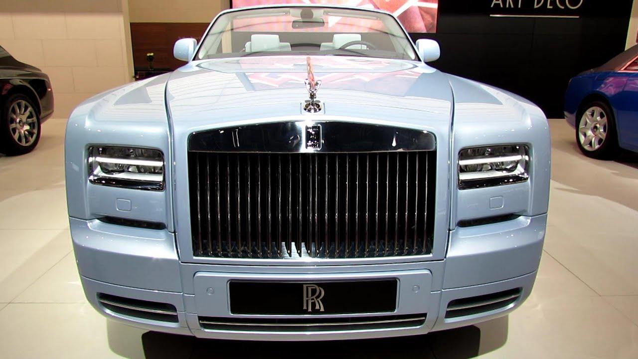 2013 RollsRoyce Phantom Drophead Coupe  Exterior and Interior