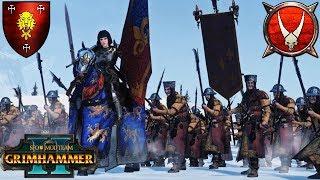 REPANSE HAS HER BANNER! - Nurgle Doombull vs. Knights of Bretonnia - SFO Grimhammer Warhammer 2