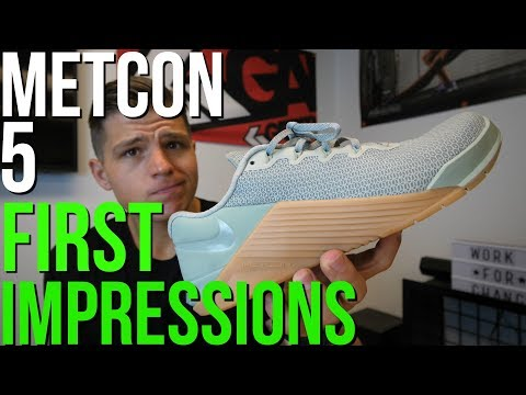 Nike Metcon 5 First Impressions (Best CrossFit Shoe Yet?)