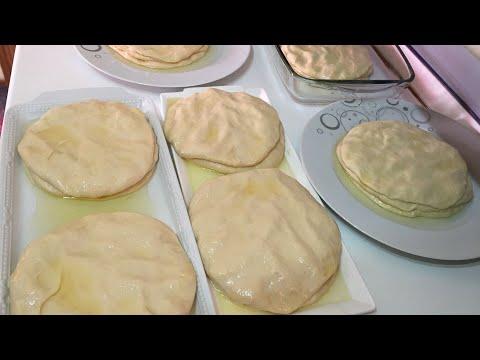 OKLAVA Kullanmadan Kolaylıkla KATMER BÖREK Yapmayı Bir de Böyle Deneyin   Patatesli Katmer Börek