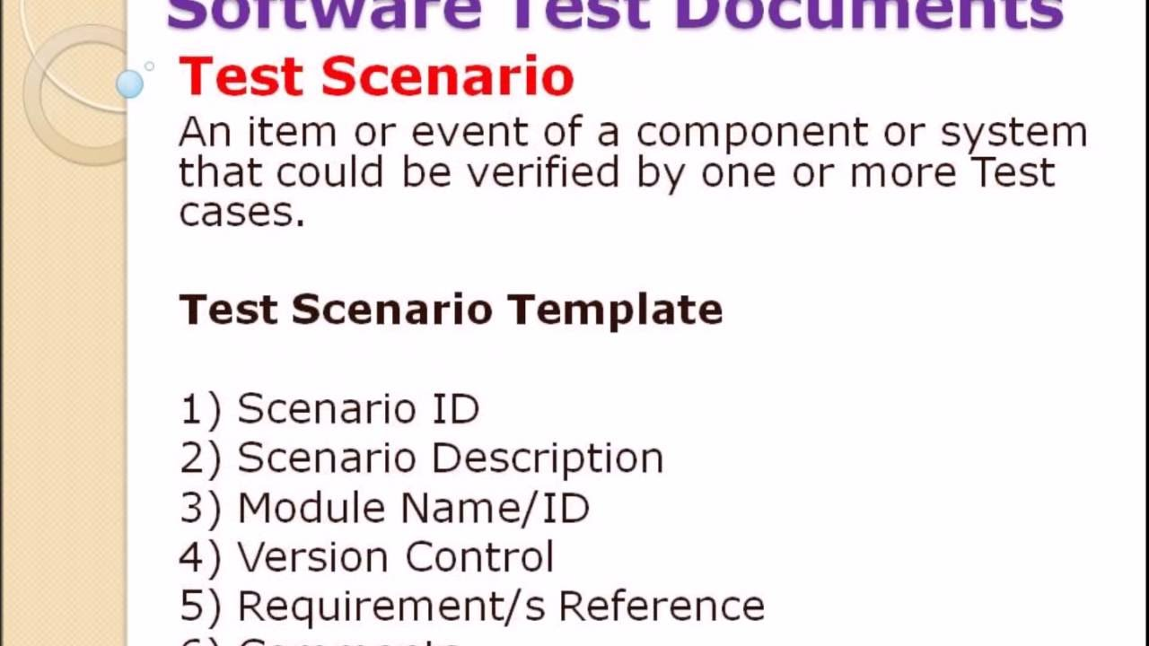 Software Testing Documents - YouTube