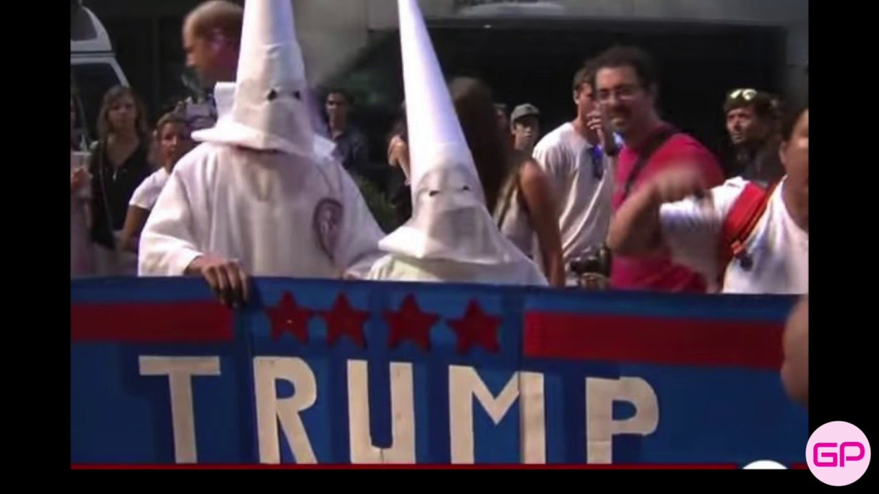 Image result for KKK & trump
