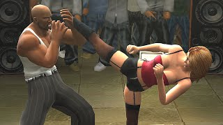Best moments of fights IRON CARMEN vs MEN (D-MOB, David Banner, Magic, Lil' Flip). PS2 Fighting game Def Jam Fight for NY on PC emulator + RTX 3090.