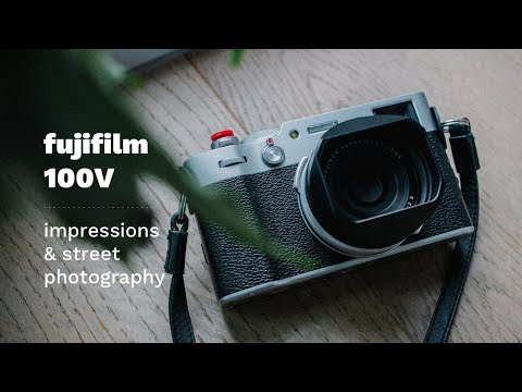 Fujifilm X100V Impressions