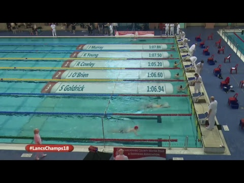 Lancashire County Swimming Championships 2018 Session 6
