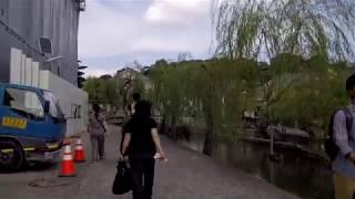 Kurashiki Japan - Walking Around Canal / Shopping Area - Famous Sightseeing Spot