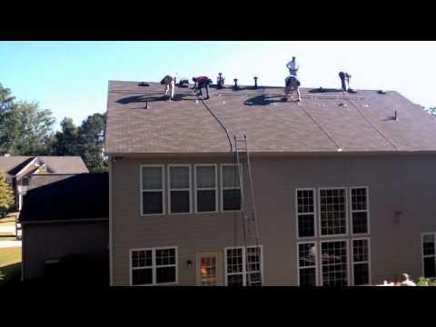 Residential Solar Panel Install