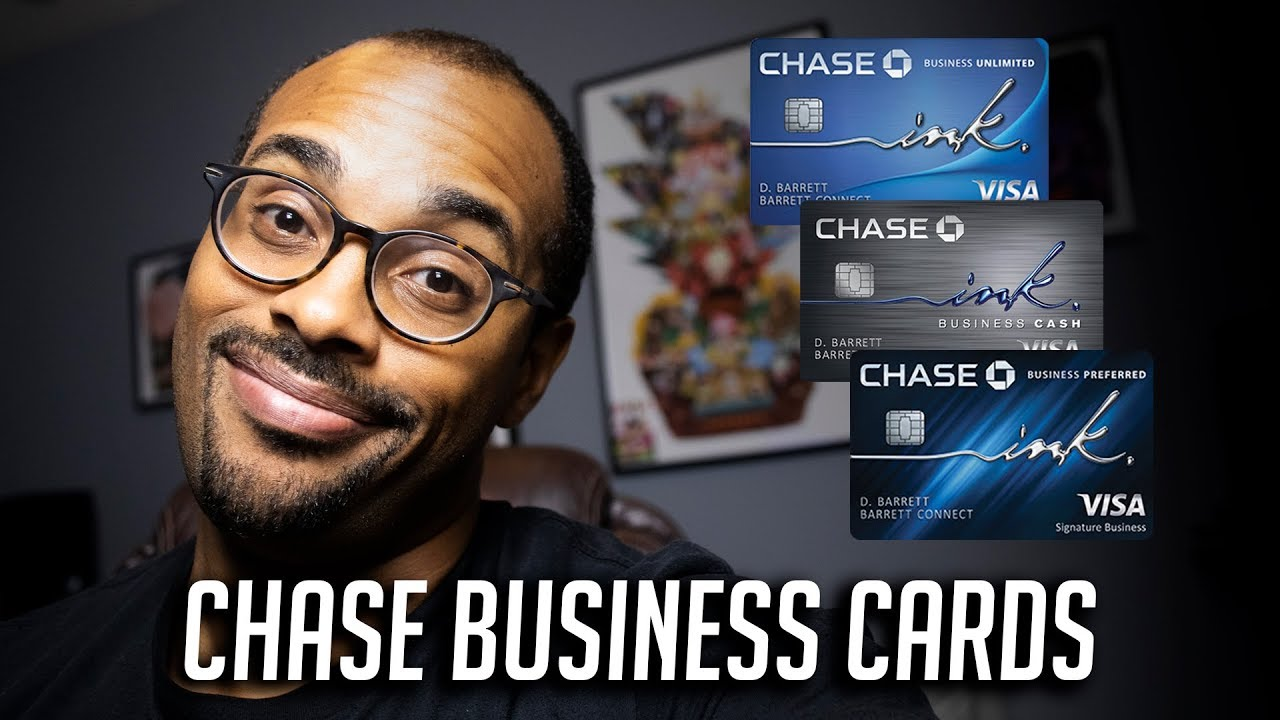Chase Ink Business Credit Cards - Get these ASAP! - YouTube