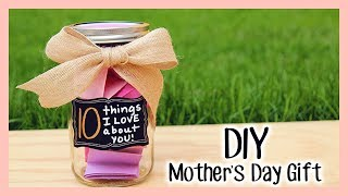 "DIY Mother's Day Gift ✿ ""10 Things I LOVE About You!"" Thumbnail"