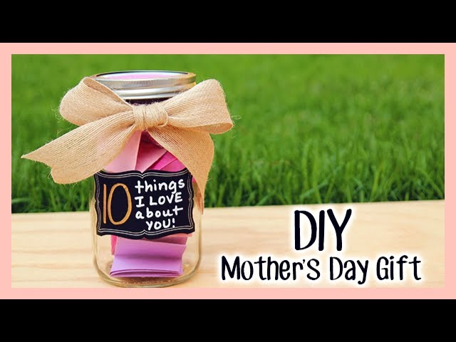 Diy Mother S Day Gift 10 Things I Love About You Youtube