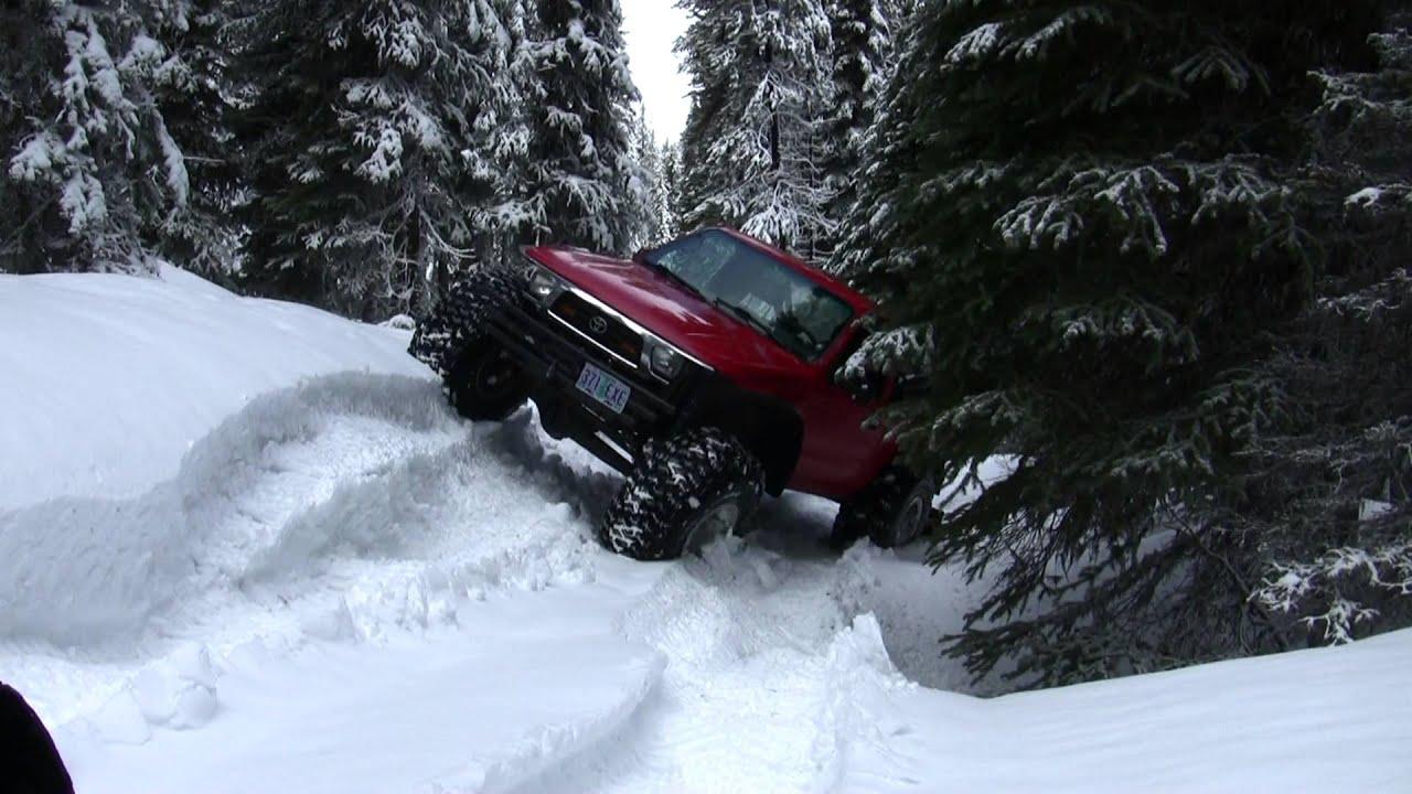 Snow Wheeling The Ruins - YouTube