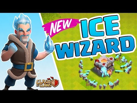 ICE WIZARD New TROOP Clash of Clans UPDATE