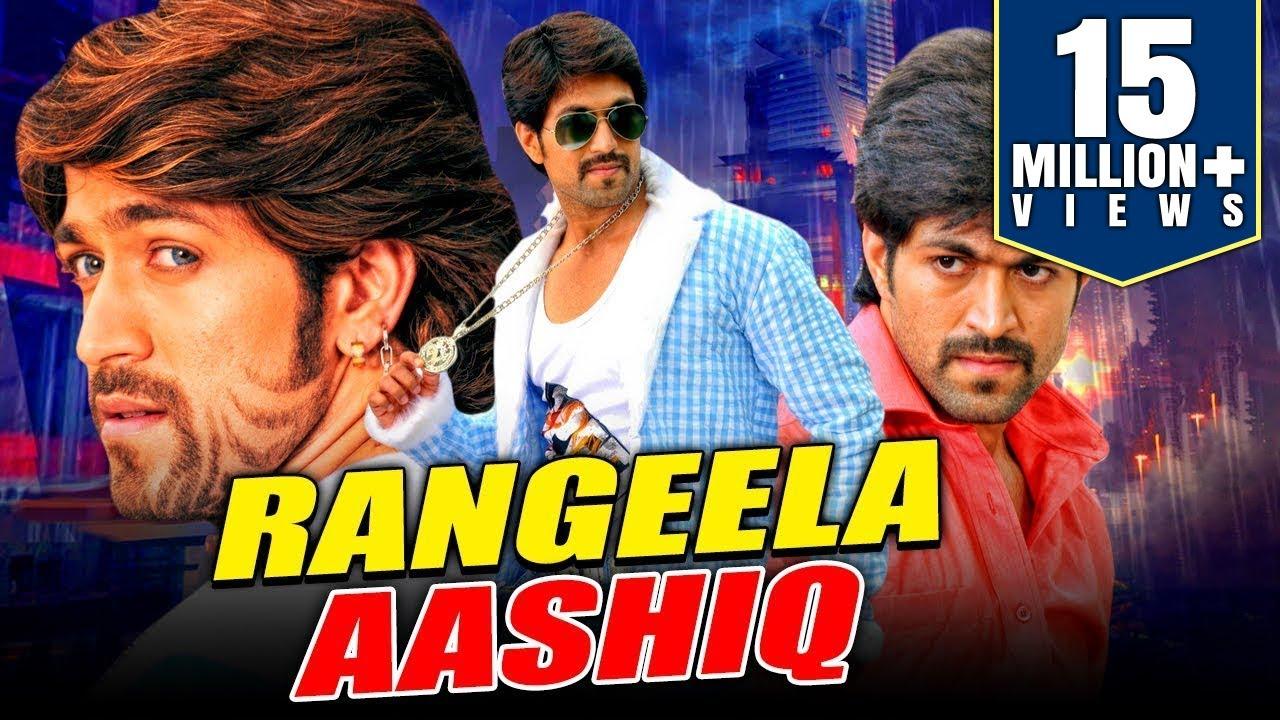 Download Rangeela Aashiq 2019 New Released Hindi Dubbed Movie   Yash, Ramya