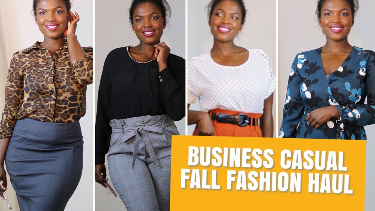 [VIDEO] - PROFESSIONAL BUSINESS CASUAL OUTFIT IDEAS FOR THE WEEK| FALL 2019 4