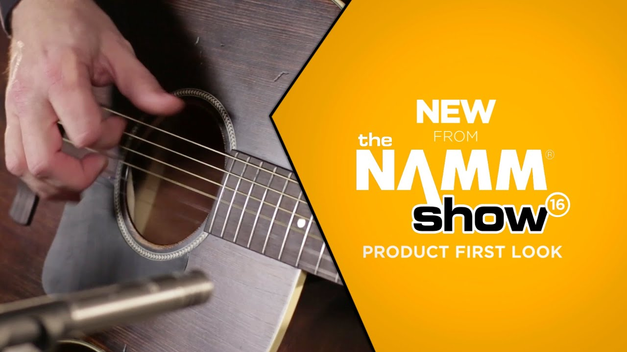namm 2016 ibanez avd6 artwood vintage distressed dreadnought