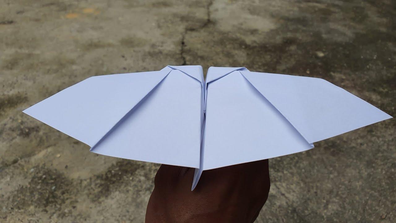 Cách gấp máy bay giấy vỗ cách bướm cực đẹp   Gấp Máy Bay