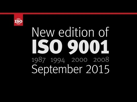 Discover the new ISO 9001:2015!