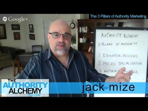 Authority Marketing: The 3 Pillars