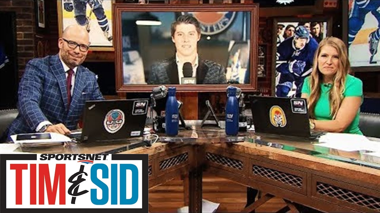 Mitch Marner talks dealing with contract, participating in charity | Tim and Sid