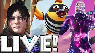GeILE BATTLE ROYALE action ON THE EVENING - Apex Legends, Realm Royale - Fortnite Gameplay PS4 Pro Anglais