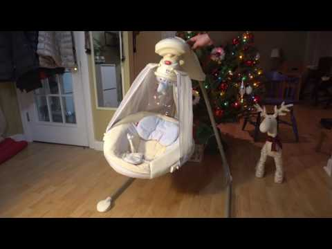Fisher-Price Starlight Papasan Cradle Swing - Review - Quick Overview