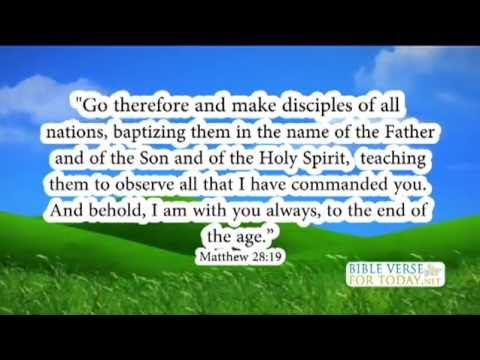 Famous Bible Verses Matthew 28 19   Bible Verse   (Daily For Quotes On Love)