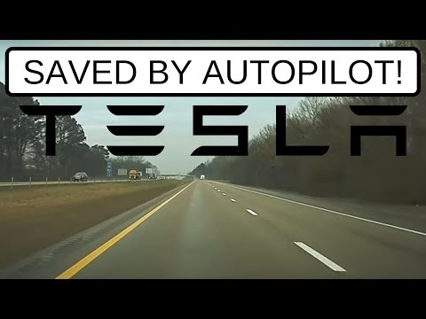 Tesla Autopilot saved several lives by avoiding a dangerous situation, recorded on Model 3 dashcam