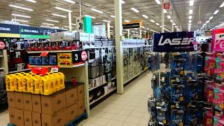 Walking Tour of Canadian Tire Brampton Canada at McLaughlin and Bovaird Intersection 4K