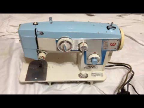 White Sewing Machine 40 How To Wind Bobbin Front Loading Bobbin Enchanting White Sewing Machine Model 622