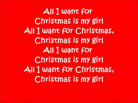 Mindless Beahvior - Christmas With My Girl (Lyrics--Full Song)