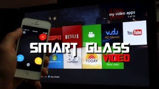 Xbox 360 Smart Glass App - Movie Demo For iPhone, iPod Touch & iPad