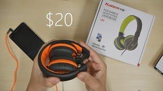 Ailihen i35: Lightweight Foldable Headphones