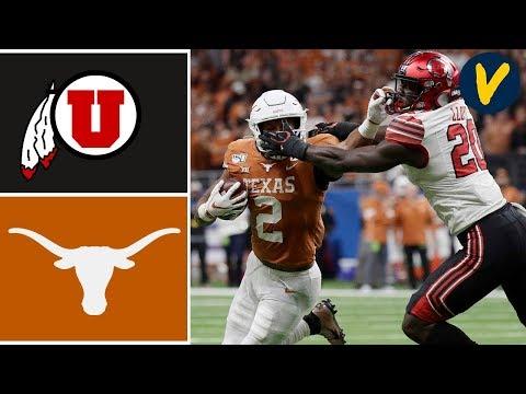#11 Utah Vs Texas Highlights | 2019 Alamo Bowl Highlights | College Football