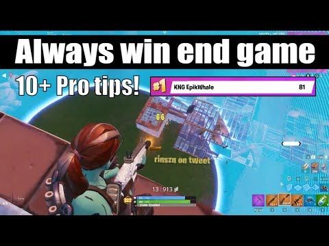 10 Pro Tips To Win End Game Fortnite Scrims! (How To Win Scrims)(How To Win Late Game Fortnite)